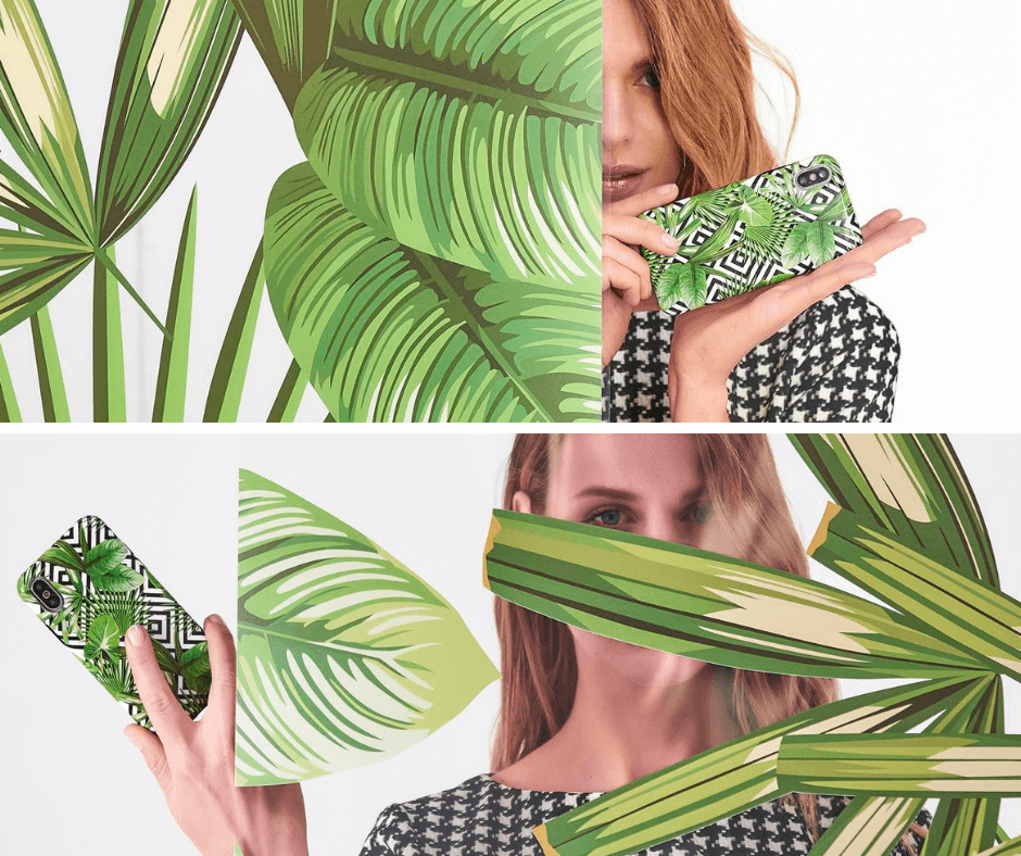 GLAM TROPICAL LEAVES